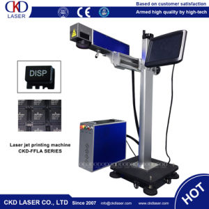 Fly Laser Marker for Online Marking pictures & photos