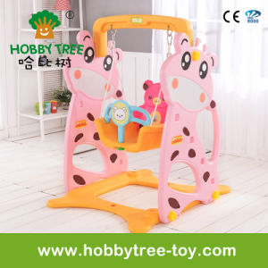 2017 Deer Style Cheap Plastic Home Baby Swing (HBS17007C)