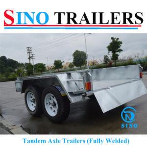 8X5 Tandem Axle Trailer pictures & photos