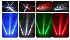 New Arrival 4X25W Beam White / RGBW 4in1 LED Moving Head Light pictures & photos