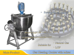Stainless Steel Jacketed Kettle Gas Cooking Kettle Without Oil Jacketed pictures & photos