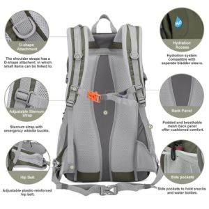 Running Outdoor School Travel Sports Climbing Hiking Rucksack Backpack pictures & photos