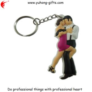 Promotion Gift Soft PVC Keychain Rubber Keyring (YH-KC022) pictures & photos