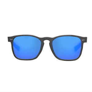 Wholesale New Sunglasses for Men and Women Round Carbon Fiber Sunglasses pictures & photos