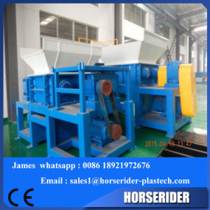 Plastic Two Shaft Shredder Machinery / Waste Film Shredding Machine pictures & photos