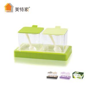 Metka Kitchen Supplies Hardcover Plastic Condiment Dispenser Spice Jar 2 pictures & photos