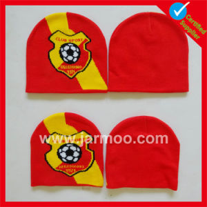 Custom Acrylic Knitted Winter Warm Football Soccer Fan Scarf pictures & photos