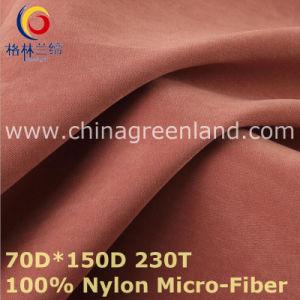 100%Nylon Micro-Fiber Fabric for Winter Coat Textile (GLLML428) pictures & photos