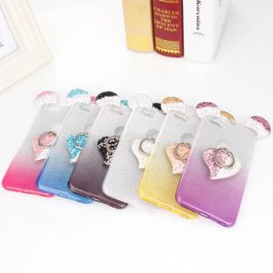 Bling Sparkly TPU Soft Case for Phone Case with Ring Holder pictures & photos