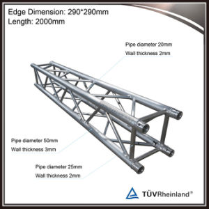 12 Inch Aluminum Lighting Truss Roof Truss for Event Stage Truss System pictures & photos