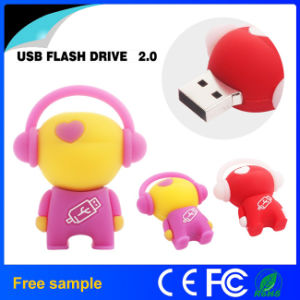 Lovely Music Robot USB Flash Drive pictures & photos
