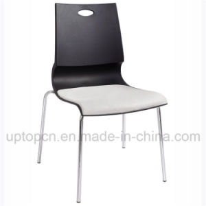 Buffet Plastic Chair with Chrome Steel and Cushion (SP-UC430) pictures & photos