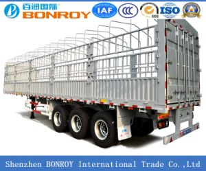 2 Axle and 3 Axle Stake Semi-Trailer pictures & photos