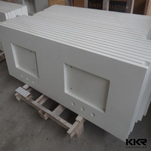 Hotel Artificial Stone Solid Surface Bathroom Vanity Top pictures & photos