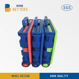 Fashion Folding Container Carry Shopping Basket pictures & photos