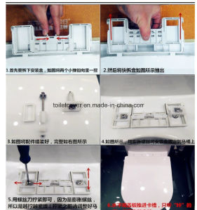 Bathroom Accessory of a PP Toilet Seat Heavy Feeling pictures & photos