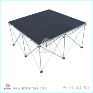 Wheelchair Accessible, Stage Equipment, Aluminum Portable Moblile Concert Stage pictures & photos