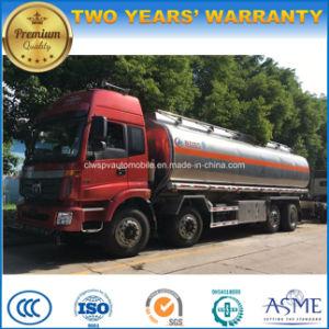 Heavy Duty 30 Tons Fuel Truck 4 Axles Aluminum Alloy Fuel Tank pictures & photos
