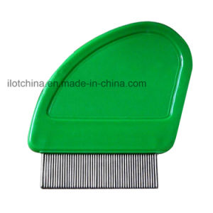 Ilot High Quality Plastic Pet Comb with Short Tooth pictures & photos