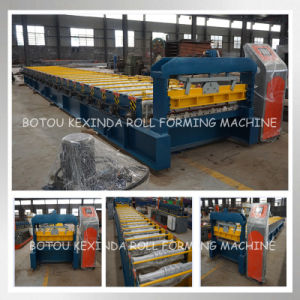 Cold Steel Roofing Profile Forming Machine pictures & photos