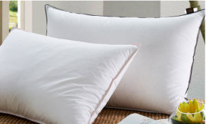 Super Soft Microfiber Fiiling Hotel Cotton Cover Pillow for Wholesale pictures & photos