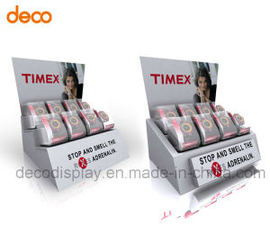 Corrugated Cardboard Countertop Display Stand Paper Counter Display pictures & photos