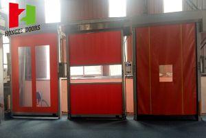 Self Repair PVC High Speed Rapid Rolling Door (Hz-FC0570) pictures & photos