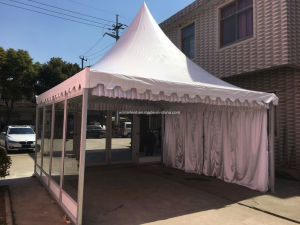 5X5m Glass Gazebo with Lining and Glass Door pictures & photos