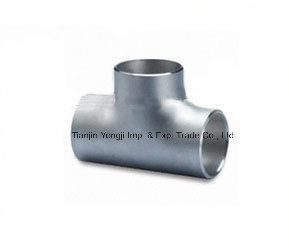 Welding Stainless Steel Pipes Fittings Tee pictures & photos