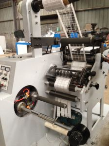 Rotary Die Cutting with Slitting Machine with Two Rewinding Shaft pictures & photos