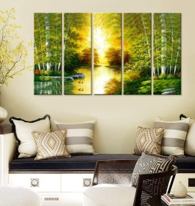 Vintage Canvas Art Painting, Wrapped Printed Canvas Printing pictures & photos