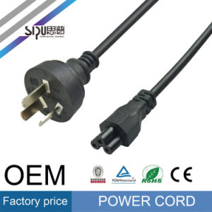 Sipu Low Price Au Plug Computer Power Cord PVC Wire pictures & photos