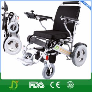 Folding Power Battery Operated Wheelchair pictures & photos