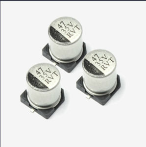 Hot Sold SMD Multilayer Aluminum Electrolytic Capacitor Tmce24 pictures & photos