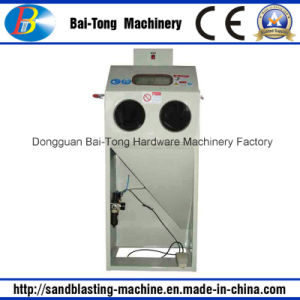 Manual Dry Sandblasting Machine for Small Parts pictures & photos