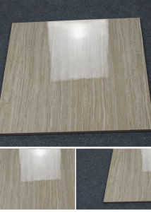 600 X 600mm Vitrified Line Stone Polished Glazed Porcelain Floor Tile with Low Price pictures & photos