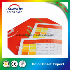 Colorful Customized Paint System Color Card Books pictures & photos