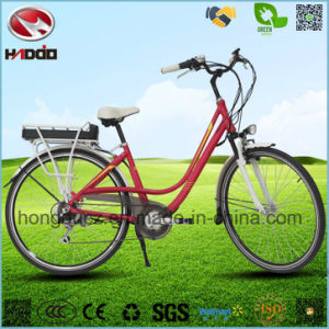 Whalesale Alloy Frame 250W Electric City Road Bicycle pictures & photos