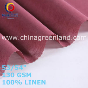100% Linen Fabric for Top Clothes Garments (GLLML465) pictures & photos