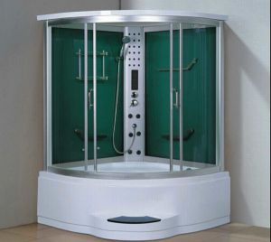 1350mm Steam Sauna with Jacuzzi and Shower (AT-GT2135F) pictures & photos