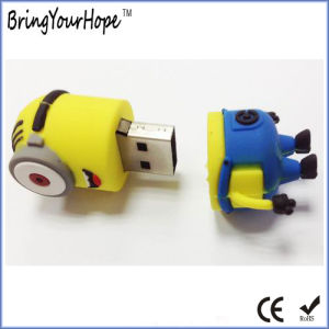 Yellow Cute Minions Design USB Flash Drive (XH-USB-145) pictures & photos