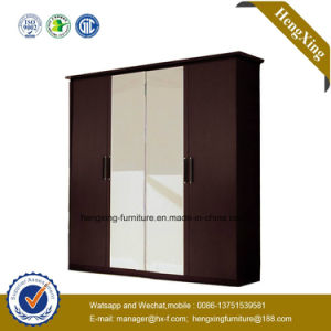 Simple Style Storage Cabinet / Wooden Wardrobe with Doors (HX-LC3085) pictures & photos
