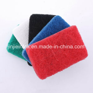 Extra Thick Nylon Polyester Abrasive Low Price Scouring Pad pictures & photos
