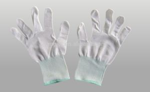 PU Soaked Gloves PU Coated Gloves pictures & photos