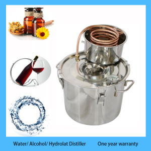 8L/2gal Stainless Steel Home Alcohol Distiller Moonshine Distillation pictures & photos