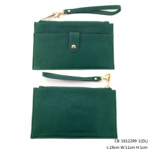 Lady′s Fashion Quality PU Leather Purse (CB-1612299-1) pictures & photos