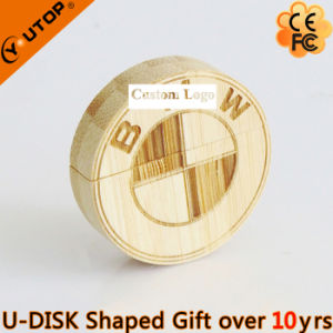 Wooden USB Flash Disk for 4s Shop Gifts (YT-8140) pictures & photos