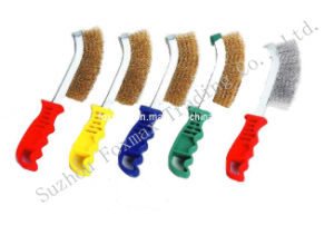 Knife Brush With Plastic Handle, Scratch Brush (TB-004) pictures & photos