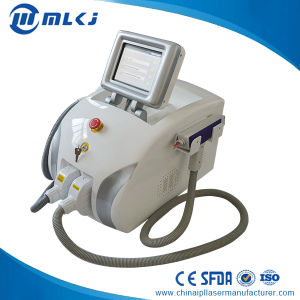 Portable Machine Elight+ND YAG Laser A4 for Permanent Painless Hair Removal pictures & photos