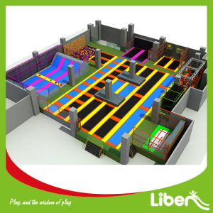 China Best Quality Large Indoor Customized Trampoline Park Supplier pictures & photos